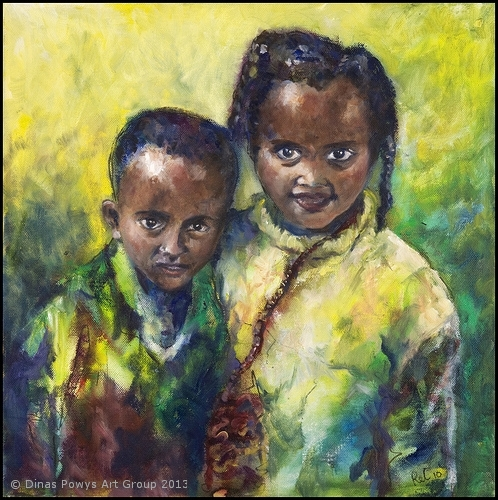 Portrait 4 inspired by the charity 'Mothers of Africa'